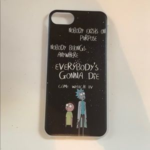 Other - Rick and Morty iPhone 7 case